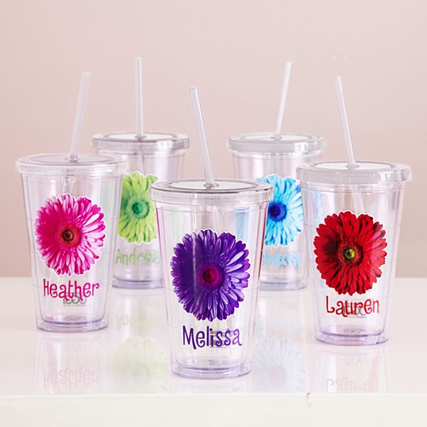 On the Go Flower Tumblers
