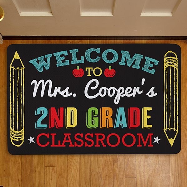 Welcome to My Class Doormat-17x27