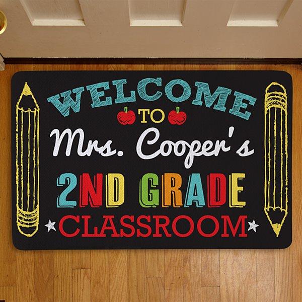 Welcome to My Class Doormat-17x27