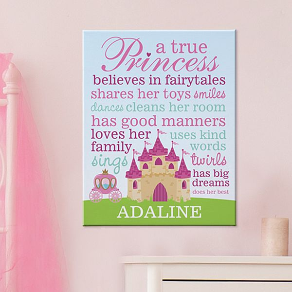 Princess Canvas 11x14