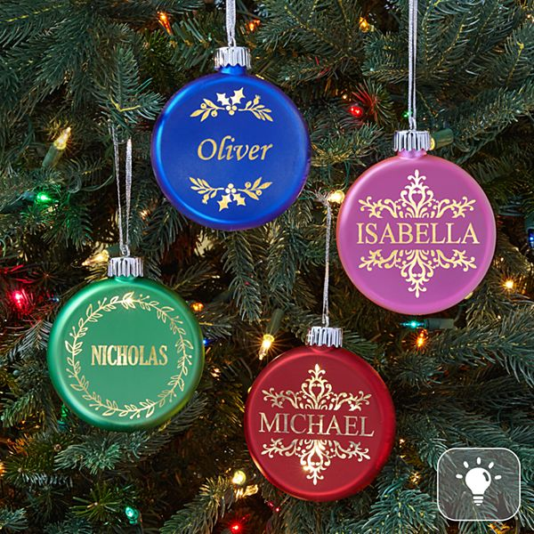 Birthstone Lighted Ornament