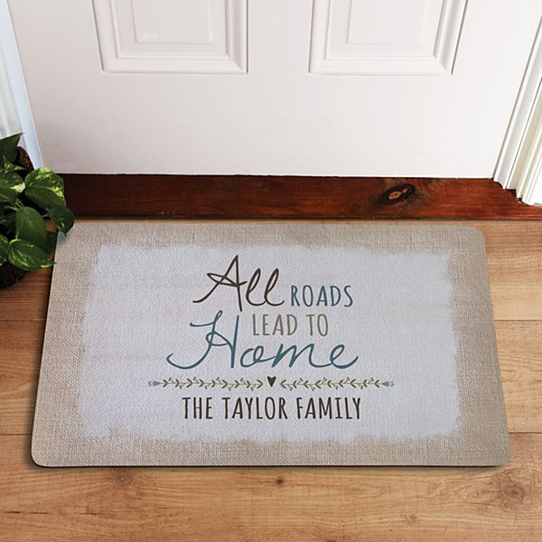 All Roads Lead to Home Doormat