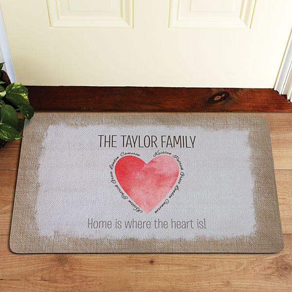 Family Is Where The Heart Is Doormat