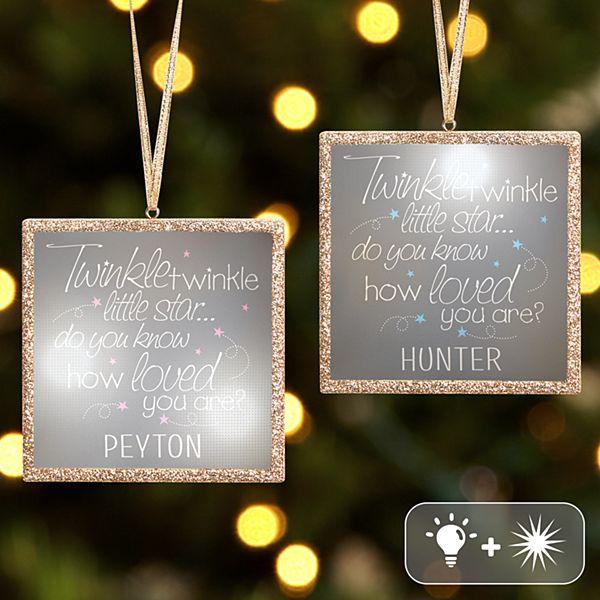 TwinkleBright® LED Little Star Ornament