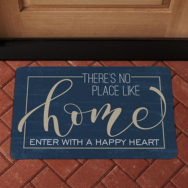 No Place Like Home Doormat