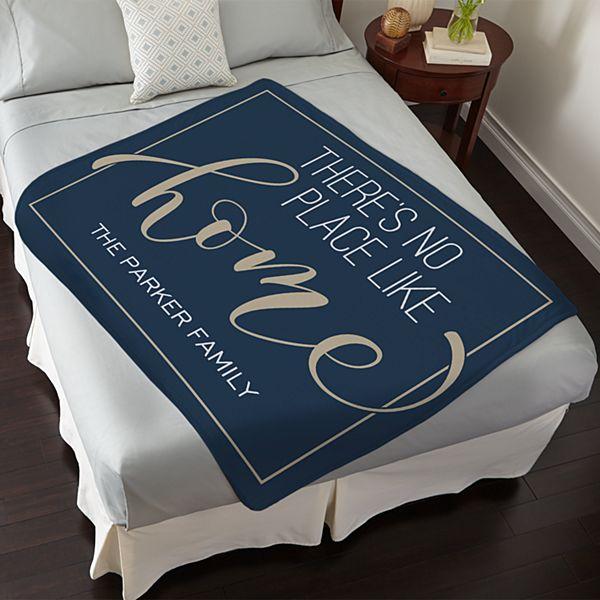 No Place Like Home Plush Blanket