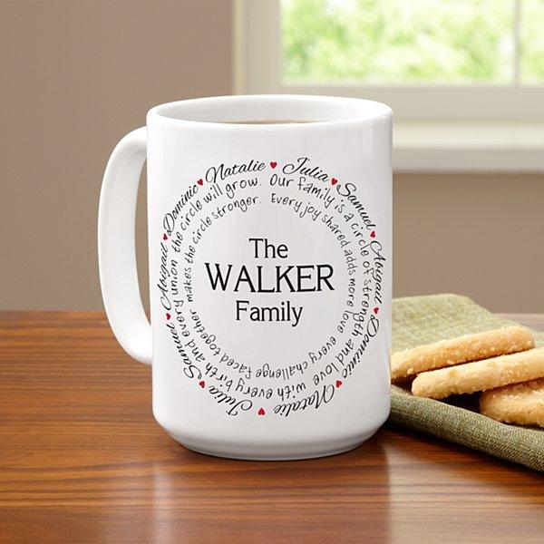 Our Family Circle Mug