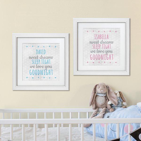 Sweet Dreams Square Framed Print