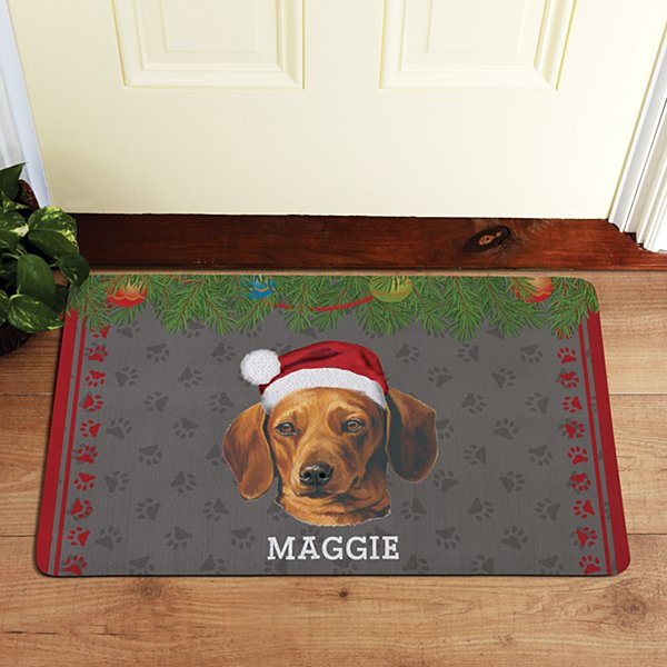 Dachshund Doormat by Linda Picken©