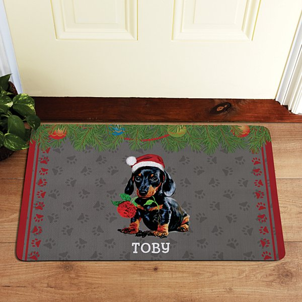 Dog Breed Puppy Doormat by Linda Picken©