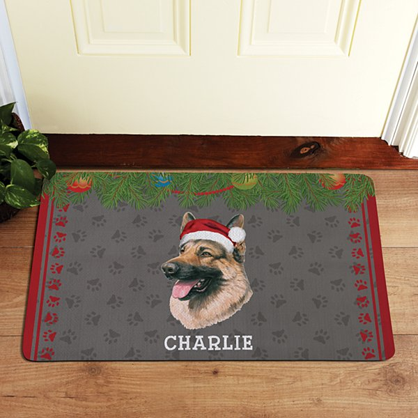 German Shepherd Doormat by Linda Picken©
