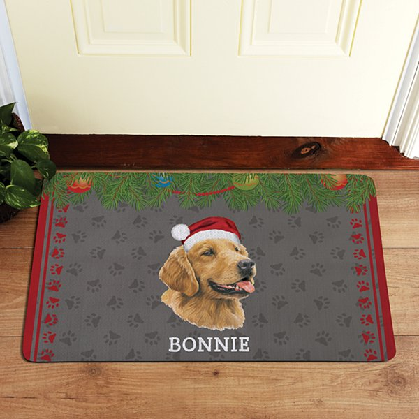 Golden Retriever Doormat by Linda Picken©