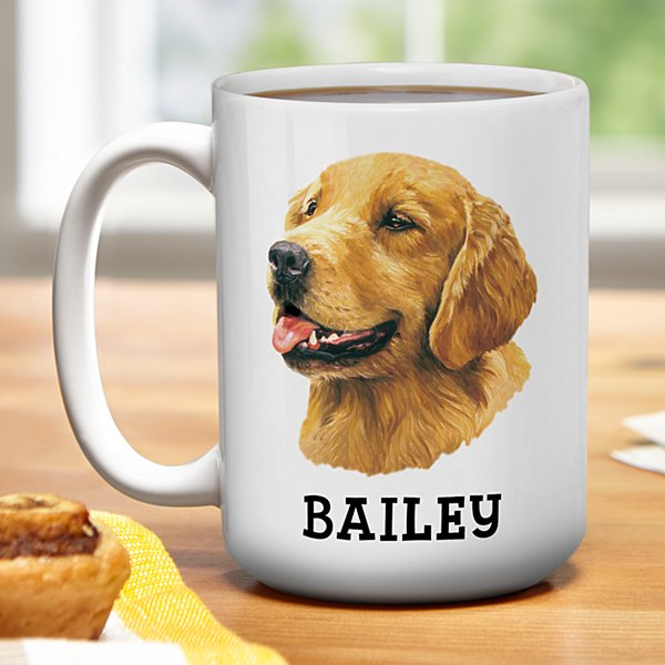 Golden Retriever Mug by Linda Picken©