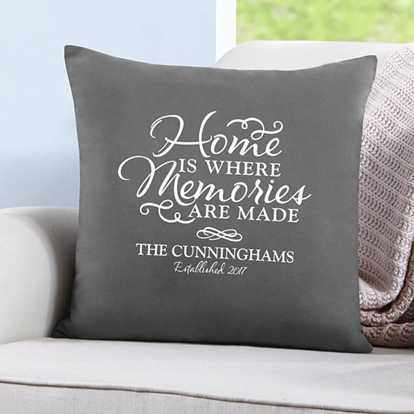 Where Memories Are Made Throw Pillow