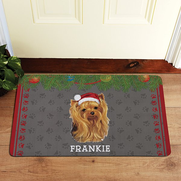 Yorkshire Terrier Doormat by Linda Picken©