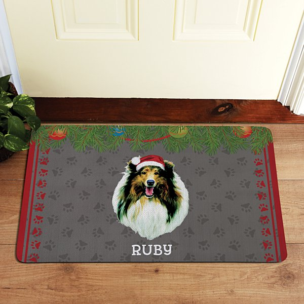 Herding Dog Group Doormat by Linda Picken©
