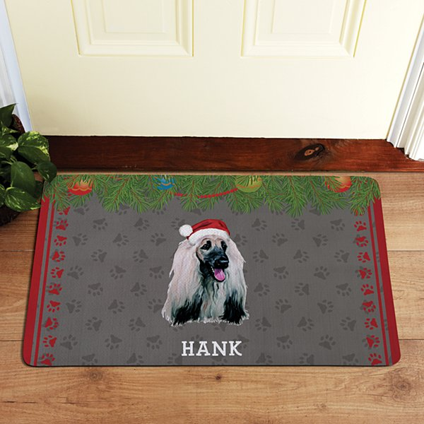 Hound Dog Group Doormat by Linda Picken©