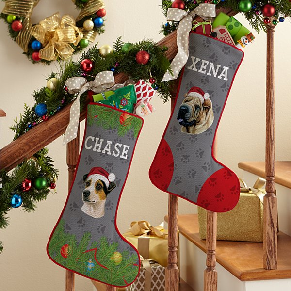 Other Dog Breed Stocking by Linda Picken©