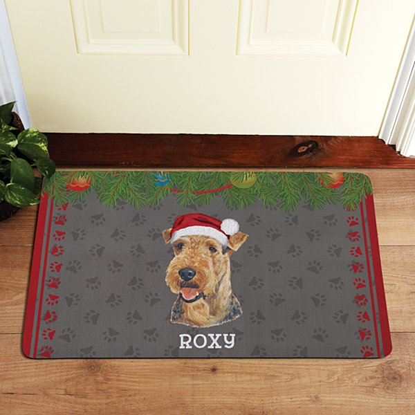 Terrier Dog Group Doormat by Linda Picken©