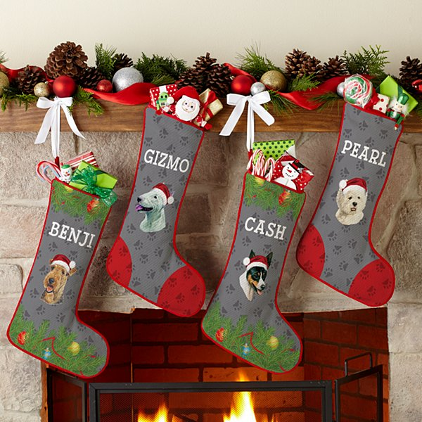 Terrier Dog Group Stocking by Linda Picken©