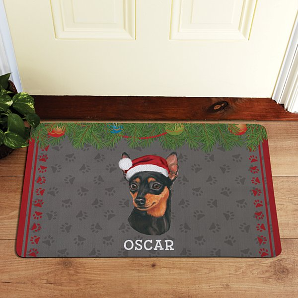 Toy Dog Group Doormat by Linda Picken©