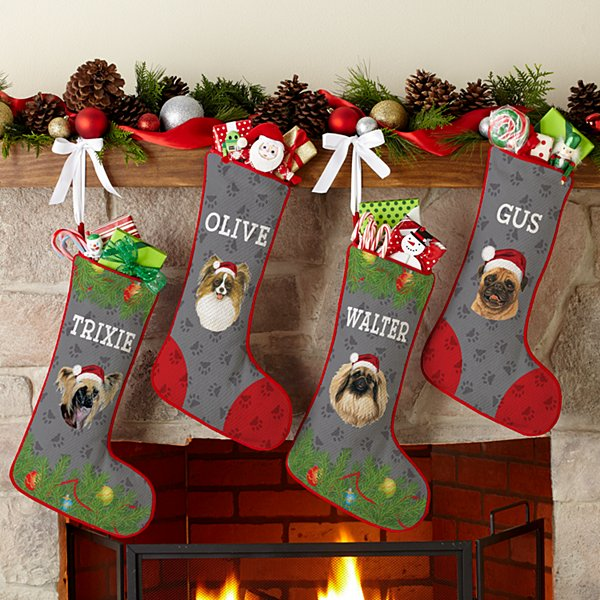 Toy Dog Group Stocking by Linda Picken©