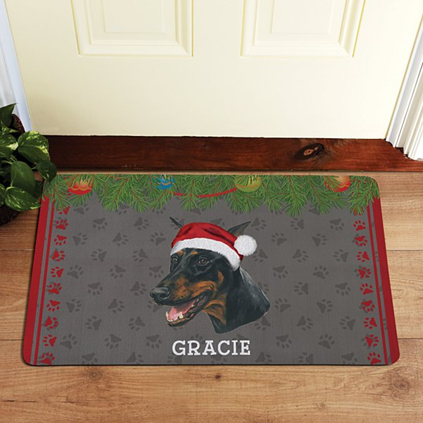 Working Dog Group Doormat by Linda Picken©