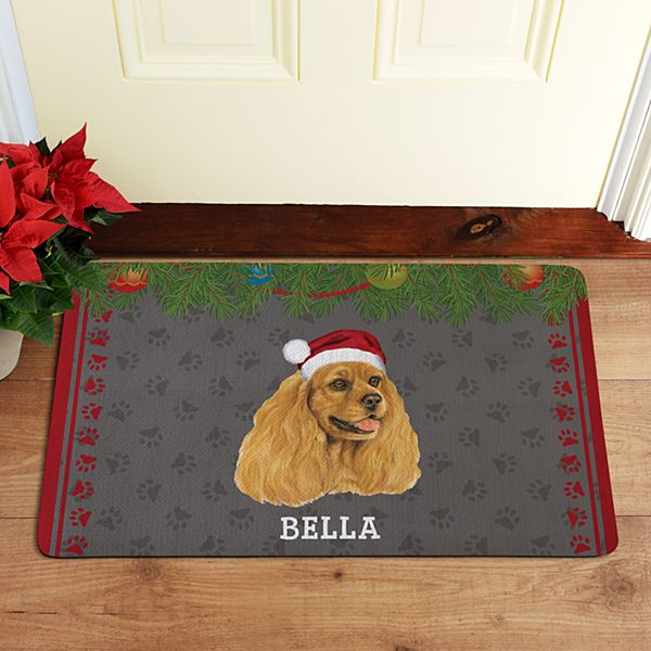 Linda Picken Dog Breed Doormat