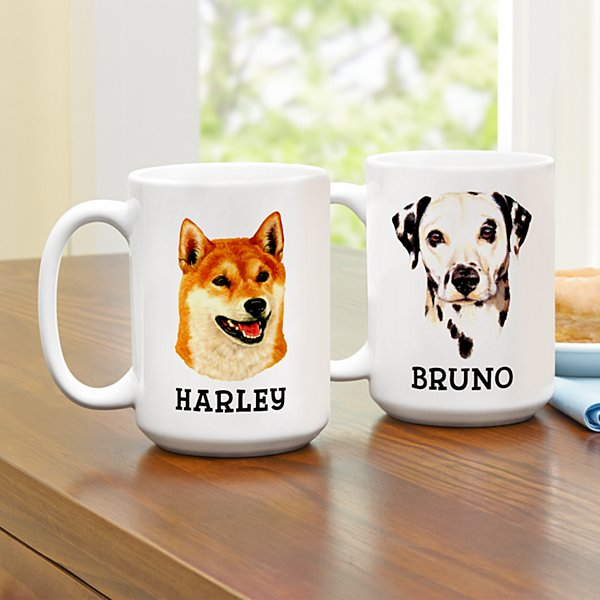 Linda Picken Dog Breed Mug