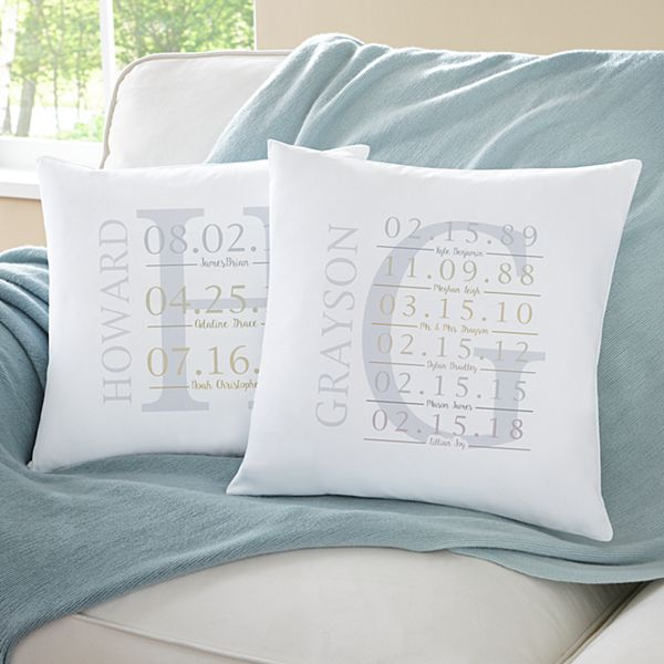 Life's Little Moments Throw Pillow