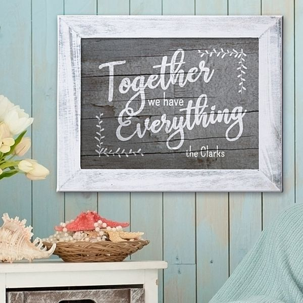 Together We Have Everything Canvas