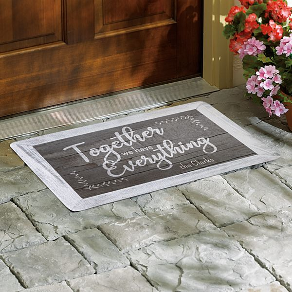 Together We Have Everything Doormat