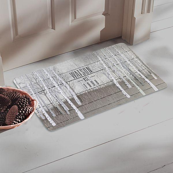 Tranquil Woods Doormat