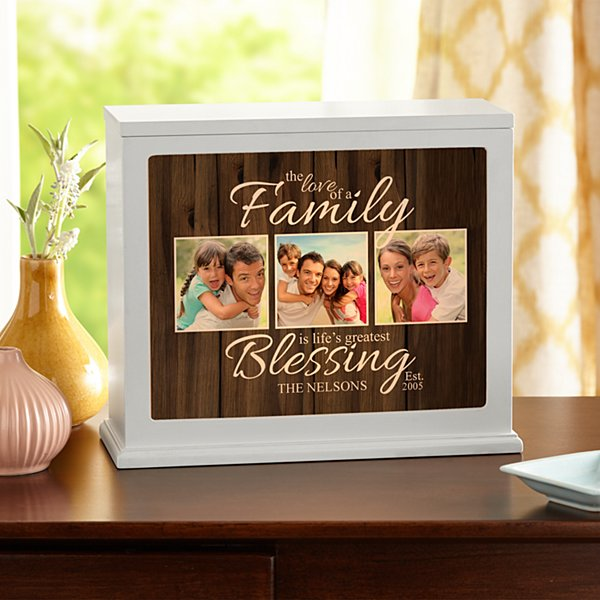 The Love of a Family Photo Accent Light