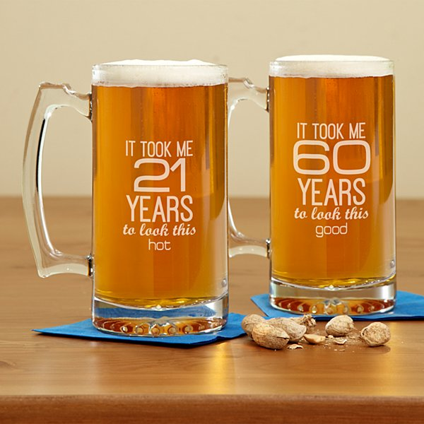 It Took This Long Birthday Beer Mug