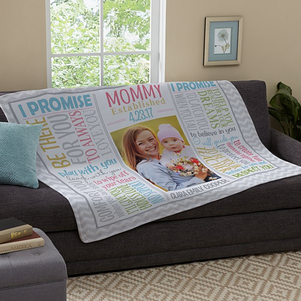 Promise to Love Photo Plush Blanket