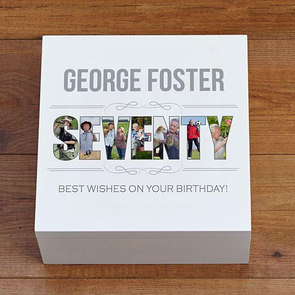 Special Birthday Photo Keepsake Box
