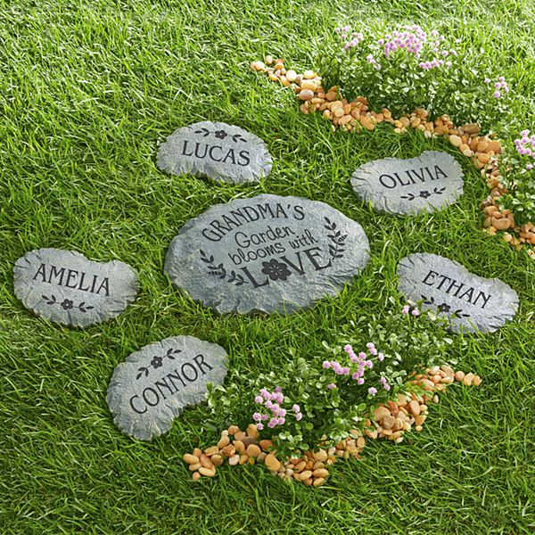 Blooms with Love Garden Stepping Stone