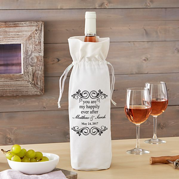 You Are My Happily Ever After Wine Bag