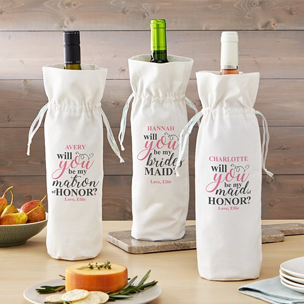 Bridal Party Wine Bag