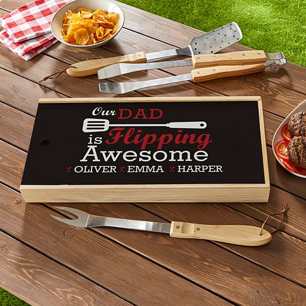Flipping Awesome BBQ Tool Set