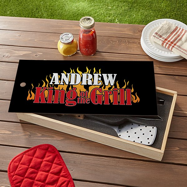 King of the Grill BBQ Tool Set
