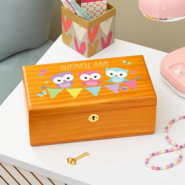 Little Hoots Keepsake Box