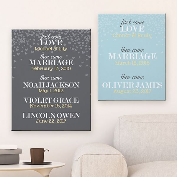 A Family's Love Canvas