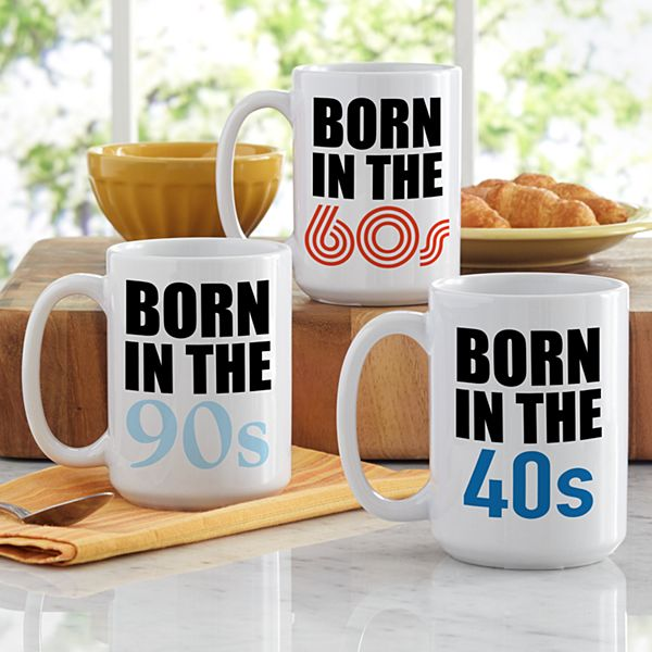 Born In Birthday Mug