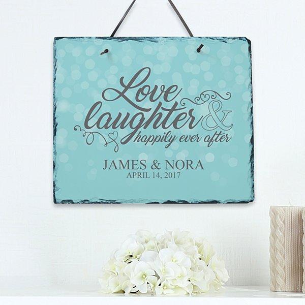 Love & Laughter Slate