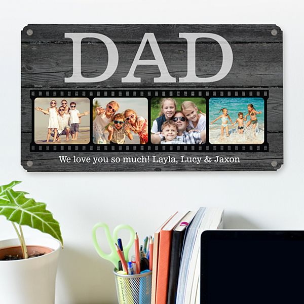 Photo Memory Reel Metal Sign