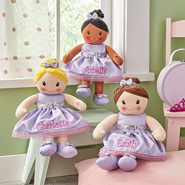 All Dressed Up™ Ballerina Rag Doll