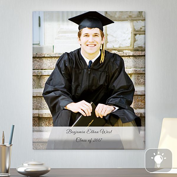 Graduation Photo Lighted Canvas