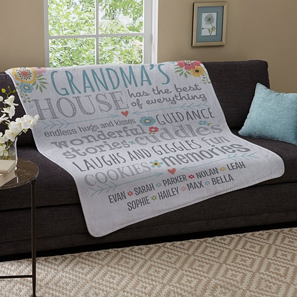 Favorite Memories Plush Blanket
